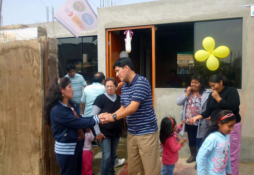 UNACEM apoya con cemento en la construcción de viviendas en Chincha