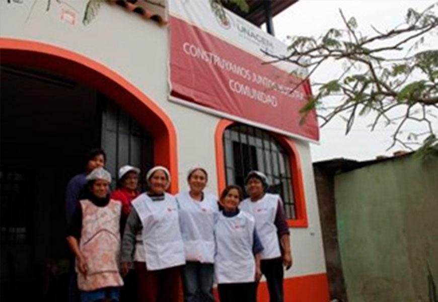 UNACEM apoyó en el refaccionamiento y rehabilitación total de ambientes del comedor Daniel Alcides Carrión en Villa María del Triunfo
