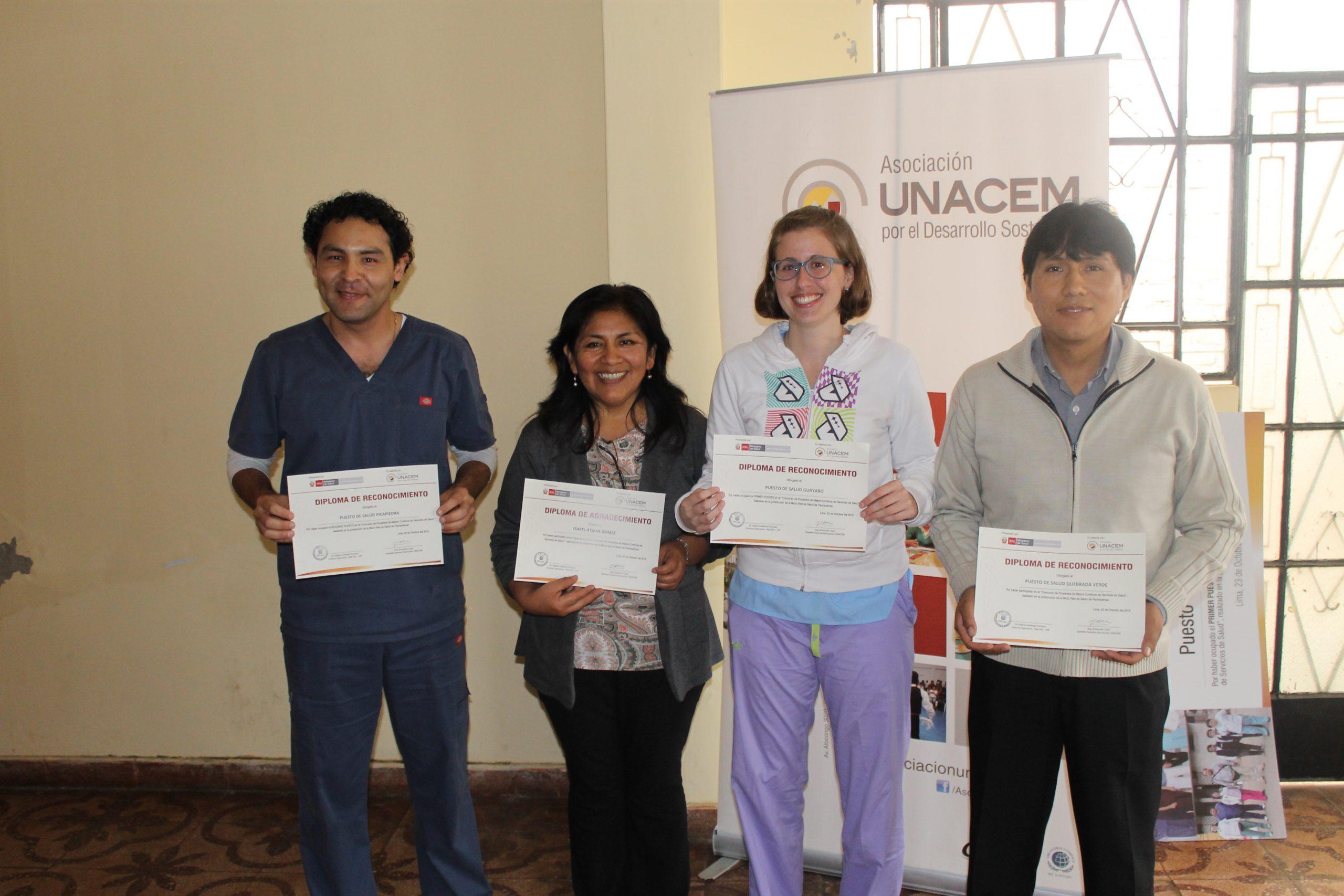 Puesto de Salud Guayabo gana concurso de Proyectos de Mejora en Pachacámac