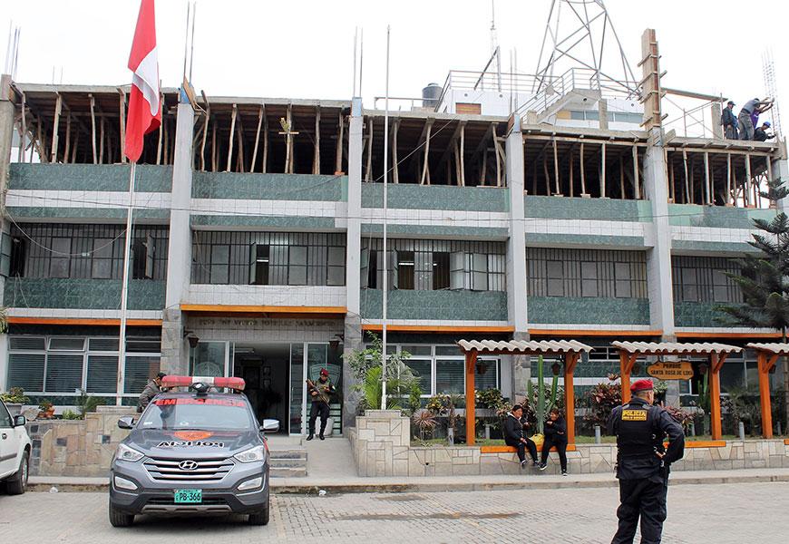 UNACEM apoya al Departamento de Emergencias Sur 2 de la Policía Nacional del Perú (PNP)
