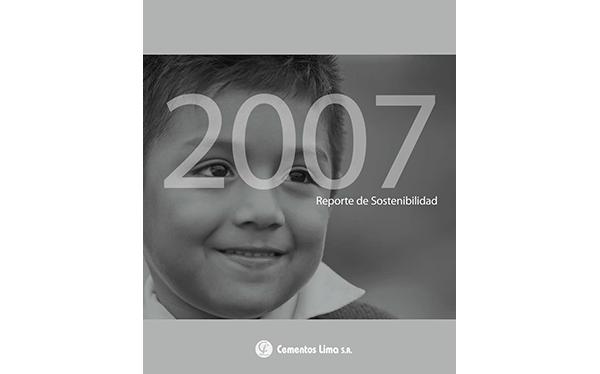 Reporte Responsabilidad Social 2007 - Asociación UNACEM