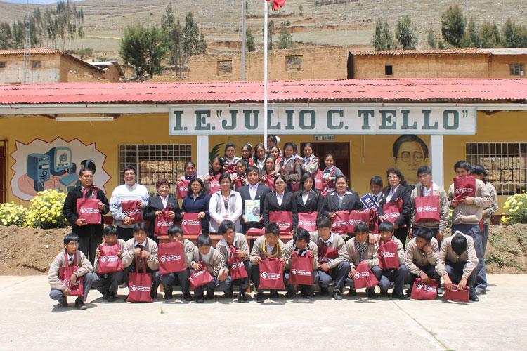 Asociación UNACEM se suma a la celebración del Día del Logro en Cochas – Tarma