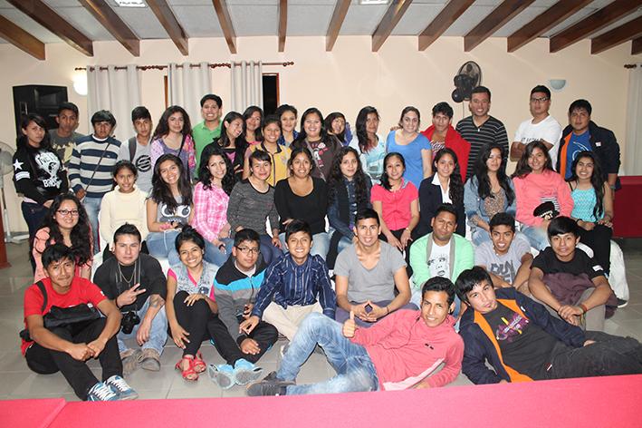 Jóvenes líderes de Lima Sur intercambian experiencias de proyectos como parte del Proyecto de Xona Urbana desarrollado por Asociación UNACEM.