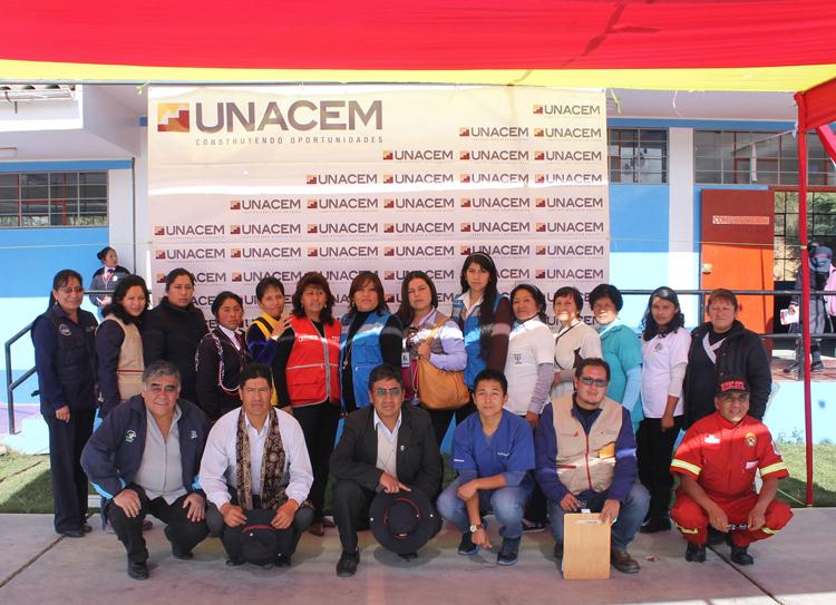 sociación UNACEM y otras instituciones públicas y privadas de Tarma vienen promoviendo el cuidado de la salud de las personas y comunidades