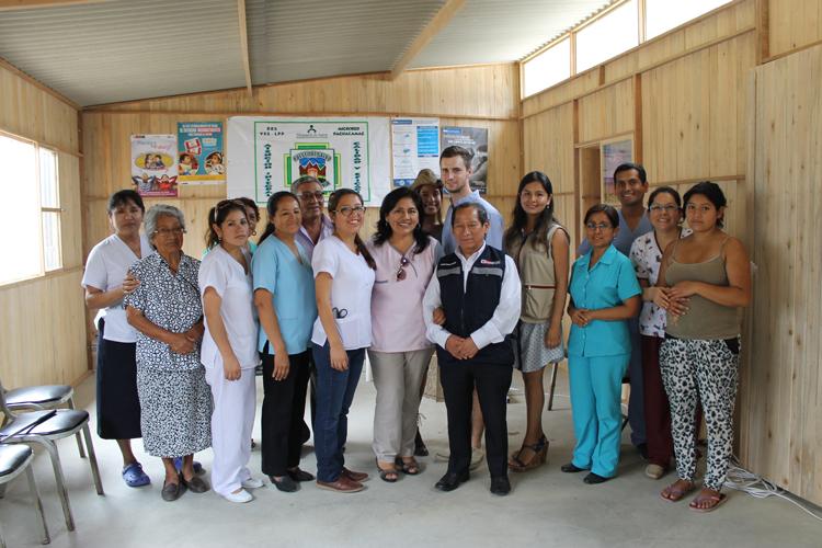 Asociación UNACEM apoya la construcción de nuevos ambientes del Puesto de Salud Picapiedra