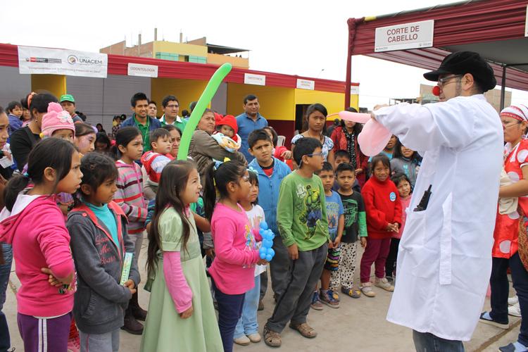 Sábados saludables con las Ferias de Salud del Niño promovidas por Asociación UNACEM