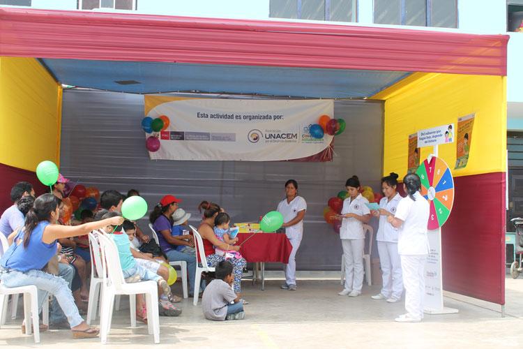 El Comité Local de Administración de Salud (CLAS) Nuevo Lurín y Asociación UNACEM suman esfuerzos en la lucha contra la turberculosis