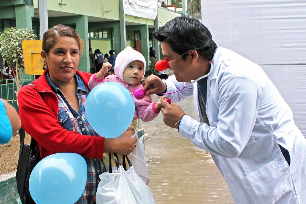 UNACEM llevó salud y diversión a familias de Lima Sur