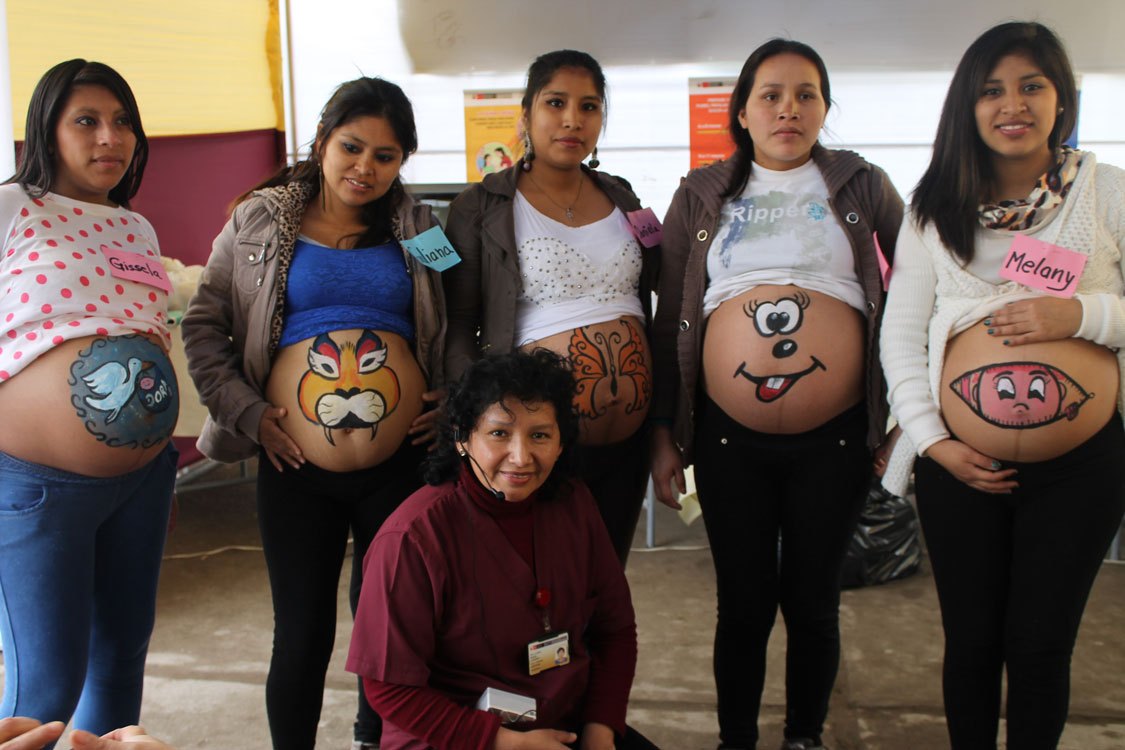 Madres gestantes y familiares previenen la anemia