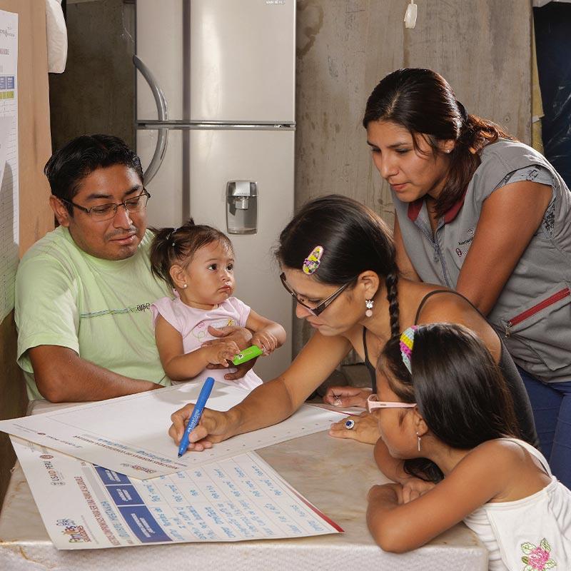 Programa Familias Saludables - Asociación UNACEM