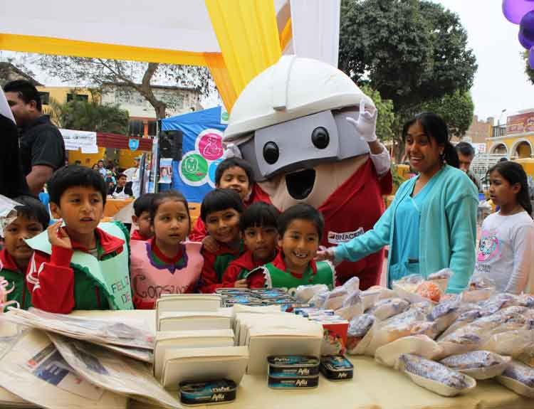 Pachacámac celebró el día mundial de la alimentación Promovido por el Centro Materno Infantil Pachacámac con apoyo de Asociación UNACEM