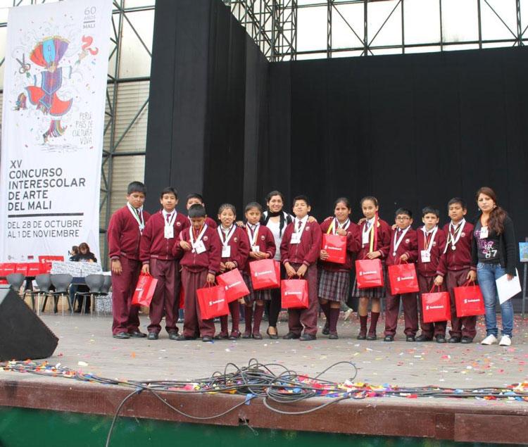 Alumnos del programa de Arte, Cultura y Deporte destacan en concurso de arte organizado por el MALI