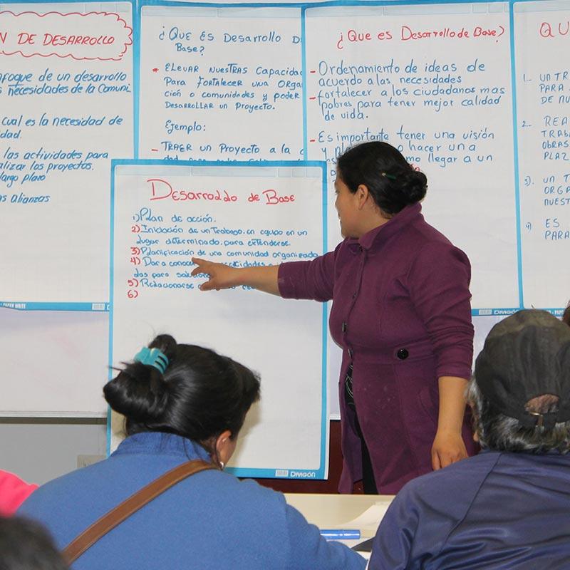 Programa de Fortalecimiento de Líderes de Organizaciones Sociales - Asociación UNACEM