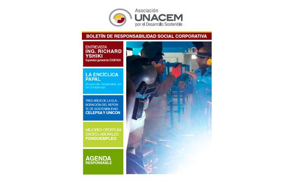 Boletín de Responsabilidad Social Corporativa No. 5 - Asociación UNACEM
