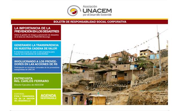 Boletín de Responsabilidad Social Corporativa No. 7 - Asociación UNACEM