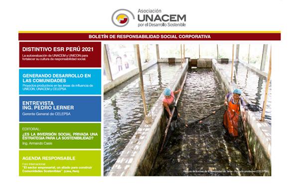 Boletín de Responsabilidad Social Corporativa No. 8 - Asociación UNACEM