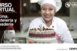 Taller Virtual de Cocina, Pastelería y Panadería - Asociación UNACEM