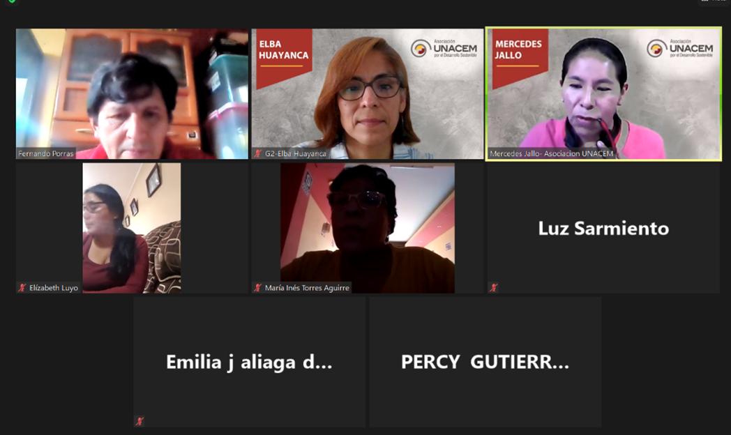 Charlas de prevención de violencia de género y buen trato para vecinos de Lima sur - Asociación UNACEM