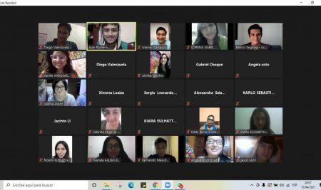 Curso de Marketing Digital para los jóvenes del Consejo Metropolitano de Participación Para la Juventud