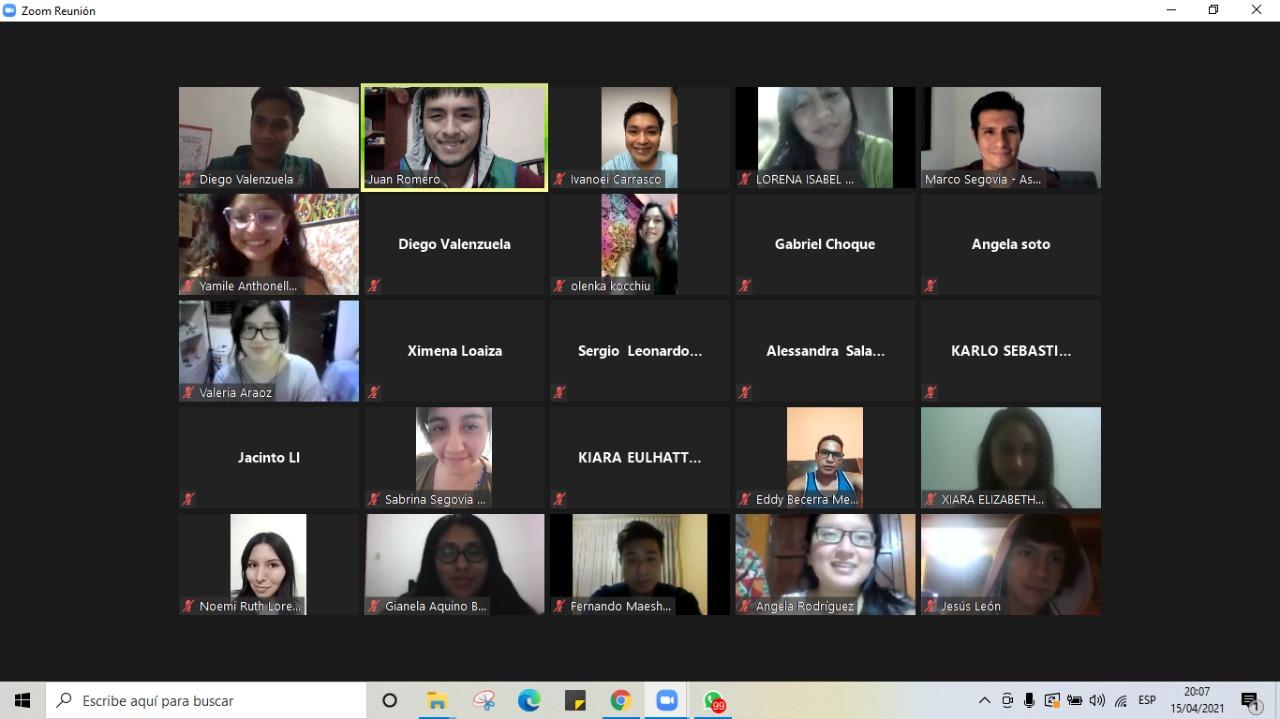 Curso de Marketing Digital para los jóvenes del Consejo Metropolitano de Participación Para la Juventud - Asociación UNACEM