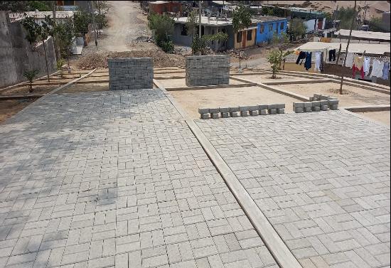 Lomas de Lúcumo sigue mejorando sus instalaciones con apoyo de Asociación UNACEM