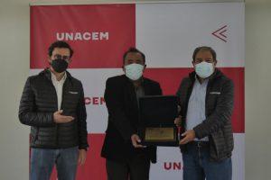 Renovación del Certificado Azul en Planta Condorcocha - Asociación UNACEM
